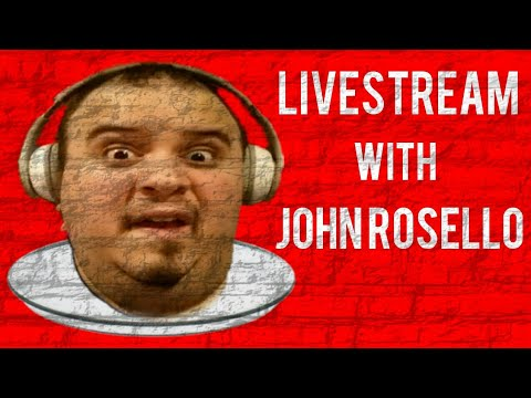 LIVESTREAM with John Rosello: Why I Join YouTube?