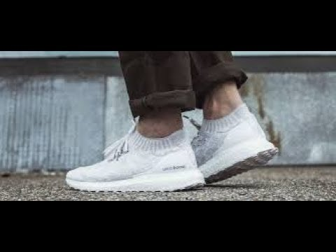 83e0997a197c4 Adidas Ultra Boost Uncaged - white review (on feet) - YouTube