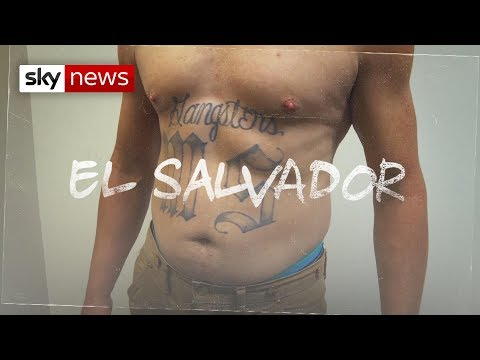 The MS13 gang members causing chaos in El Salvador