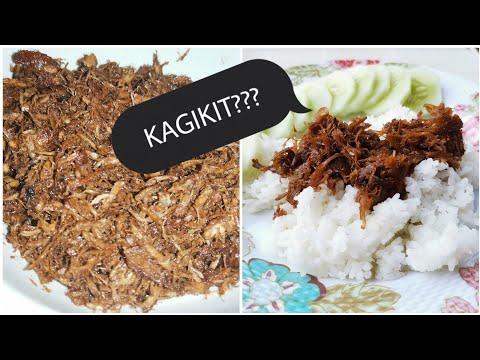 HOW TO MAKE KAGIKIT | CHICKEN ADOBO FLAKES