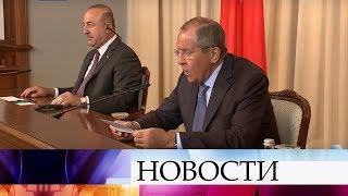 Турция готова к совместным с Россией действиям по уничтожению террористов на севере Сирии.