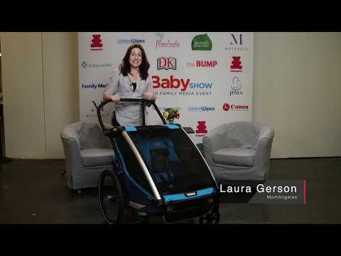 MomAngeles Checks out Thule's Stroller at LA Baby Show