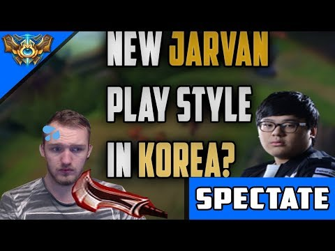 CUVEE BUSTING OUT FERVOR JARVAN AGAINST JAYCE ON TOP ?? KOREAN SOLO Q