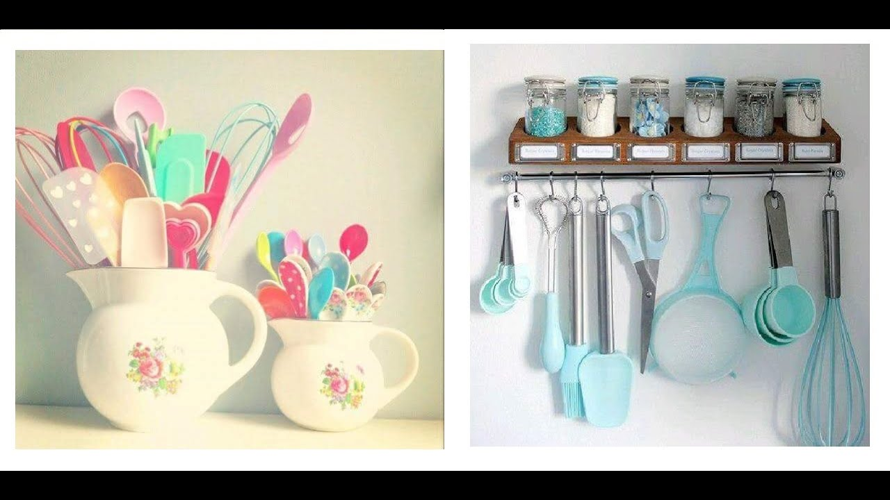 C mo organizar utensilios de cocina ideas youtube for Ideas de decoracion reciclando