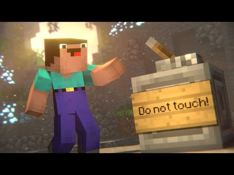 Thumbnail: Don't Touch! (Minecraft Animation)