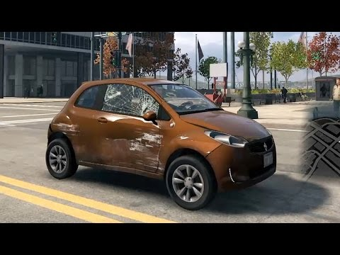 Watch Dogs PlayStation 4 - Bogen 200 Subcompact Car Test Drive