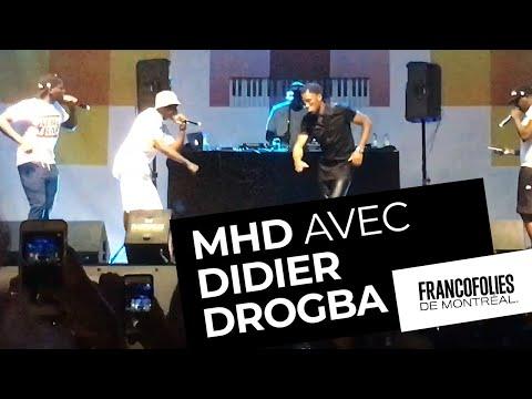 Concert Live de MHD à Montréal [ULTRA HD] Surprise de Didier Drogba
