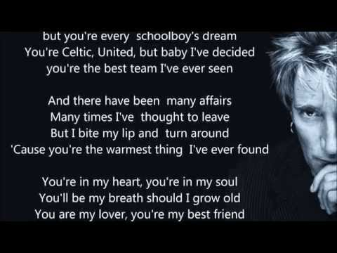 Rod Stewart - You're In My Heart - HQ - Scroll Lyrics