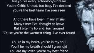 "Rod Stewart - You're In My Heart - HQ - Scroll Lyrics ""22"""