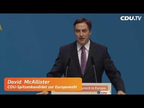 Rede von David McAllister