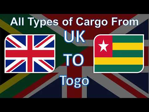 The Best Cargo and Parcel Shipping Services from UK to Togo at the most Affordable Prices