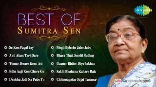 Best of Sumitra Sen | Megh Boleche Jabo Jabo | Rabindra Sangeet | Audio Jukebox | Sumitra Sen Songs