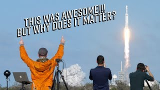 Why does Falcon Heavy matter? Why put a Tesla in space?!  (Behind the scenes of Falcon Heavy)
