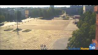 Веб-камера онлайн Центральная площадь, Червоноград - Camera.HomeTab.info