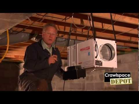 Mega Dry Dehumidifier From Crawlspace Depot