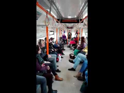 Flash mob on the London Overground - Something Inside So Strong (Labi Siffre, arr. Pete Churchill)
