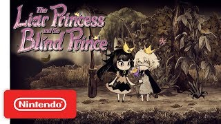 The Liar Princess and the Blind Prince - Release Date Announcement Trailer - Nintendo Switch