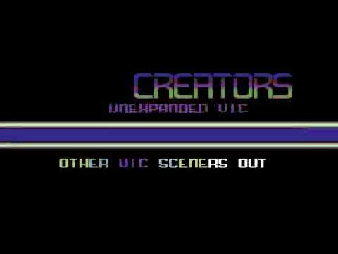 Vic 20 demo: First
