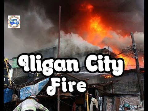 10 HOUSES DESTROYED BY FIRE  IN ILIGAN CITY|FULL HD