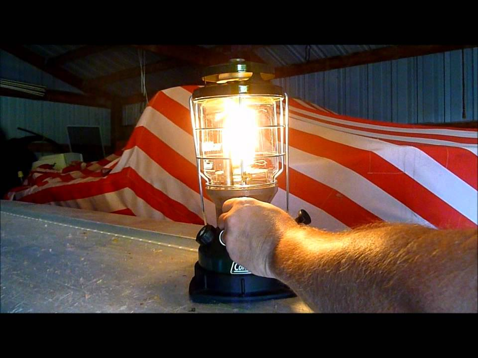 Coleman Lantern - light a Northstar - easy , reliable, rugged, built to last