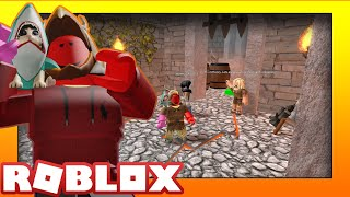 ESCAPING THE DUNGEON IN ROBLOX!! (Roblox Friday)