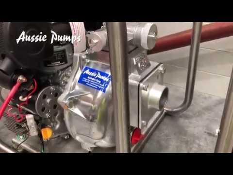 Aussie Diesel Fire Pump Production 2019