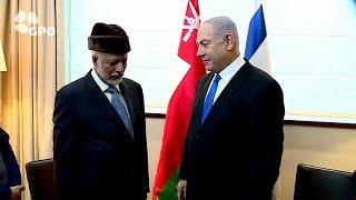 نتنياهو يلتقي وزير خارجية عمان ويتحدث عن تقارب مع دول عربية…