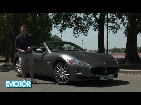 Maserati Gran Cabrio - iMotorTV