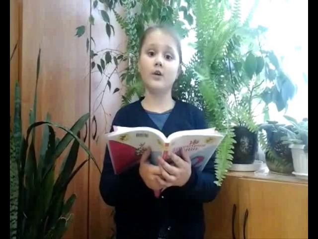 Изображение предпросмотра прочтения – АнастасияСеменченкова читает произведение «Стрекоза и Муравей» И.А.Крылова