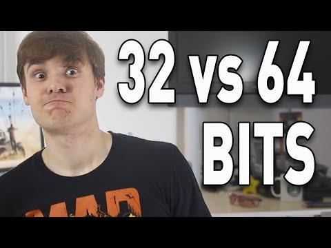 32 bits vs 64 bits... ¿Cuál es la diferencia? - VTechnoun