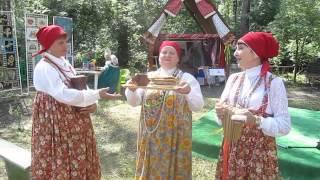 Русские народные песни на Сабантуе-2014