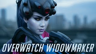 Widowmaker from Overwatch come to life , Cosplay