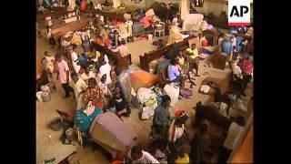 LIBERIA: MONROVIA: HEAVY BATTLES CONTINUES AMONG RIVAL FACTIONS thumbnail
