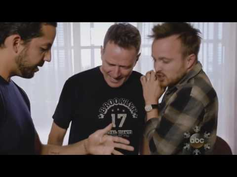 David Blaine shows magic to Kayne West, Bryan Cranston, Aaron Paul and Will Smith
