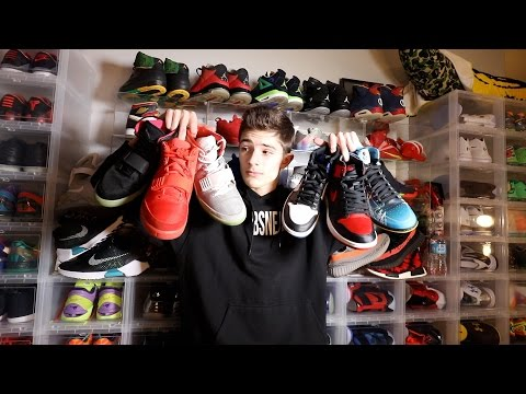 MY ENTIRE SNEAKER COLLECTION! (best on youtube!?)
