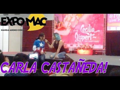 EXPO MAC VERACRUZ 2018 ,CARLA CASTAÑEDA!