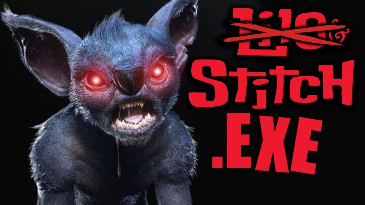 ANOTHER BELOVED DISNEY CHARACTER TURNS INTO AN .EXE DEMON! – STITCH.EXE [Disney Horror Game]