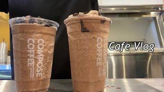 Eng sub) 카페알바 브이로그 cafe vlog |…