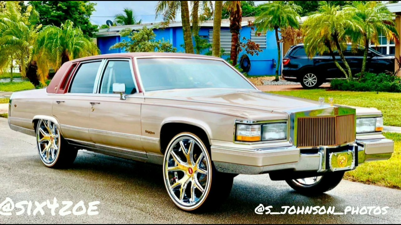1992 cadillac brougham on 24 inch kraze wheels gold plated by stn customs youtube 1992 cadillac brougham on 24 inch kraze wheels gold plated by stn customs