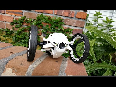 Parrot Jumping Sumo Mini Drone You Control With Your Phone Review!
