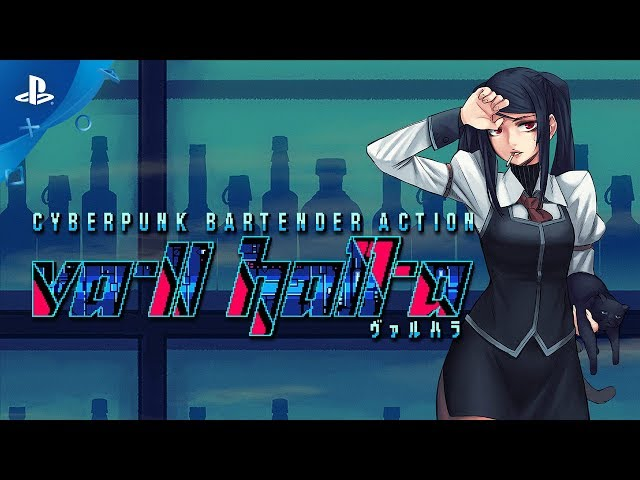 VA-11 Hall-A: Cyberpunk Bartender Action - Release Date Trailer | PS4