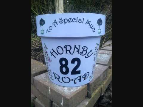 Hand Painted Flower Pots Uk