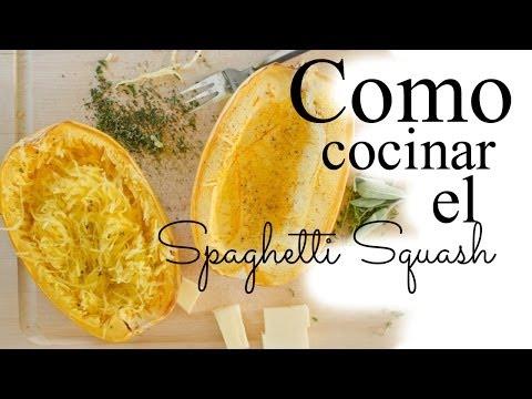 COMO CONCINAR/ ORNEAR Spaghetti Squash- Tipsdekarely