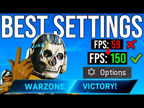 BEST WARZONE SETTINGS GUIDE (Console + PC)