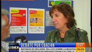 fuerte apoyo en la unc al ingreso de cba24n a cablevisin mvil i