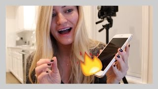MY iPHONE BURNED ME!!!!
