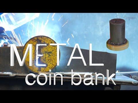Metal Coin Bank
