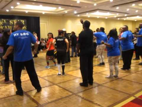 UC Hustle Jiggle It Soul Line Dance  UC Star Awards 2014 in Baltimore 1262014