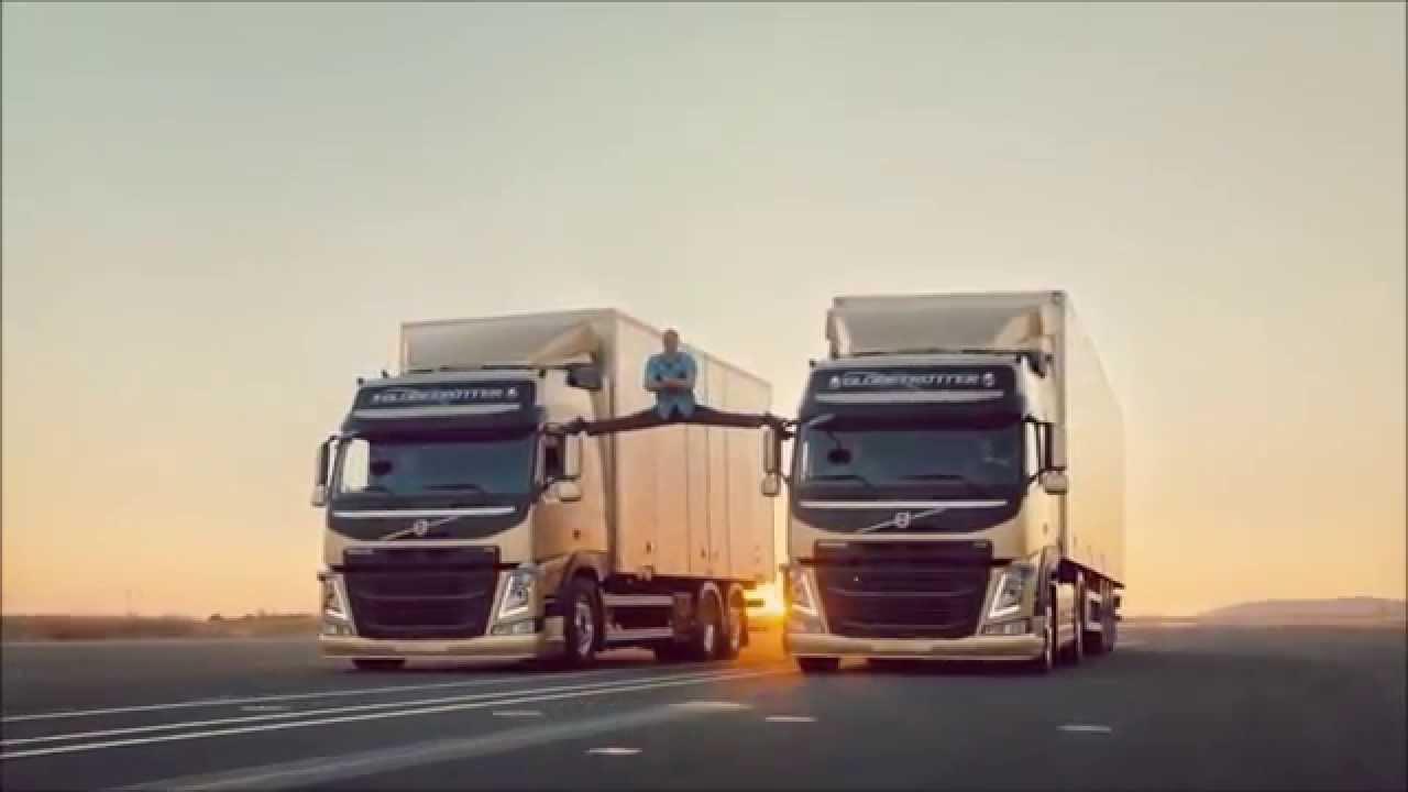 Volvo Truck Advert Jean Claude Van Damme volvo truck commercial - YouTube