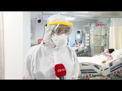 Yoğun bakımda 'koronavirüs' mücadelesi